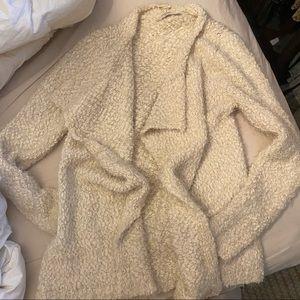 Very soft fuzzy cardigan